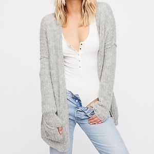 Free People Weekend Getaway Alpaca Blend Cardigan